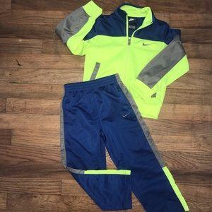 Toddler boy Nike track suit